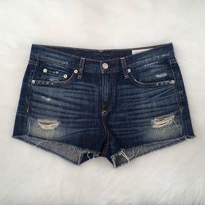 Rag & Bone Distressed Shorts Sz 27